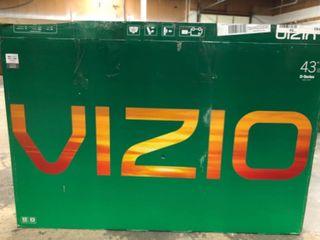 VIZIO 43  Class FHD  1080P  Smart lED TV  D43fx F4
