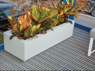 Polymade Planter Box   Beige   46 l x 18 W x 12 T