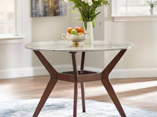 Saville Extendable Dining Table Walnut   Buylateral