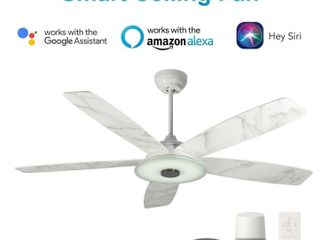 Carro CES565Hl 56  Indoor Smart Ceiling Fan