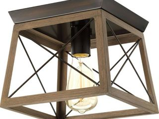 Briarwood Collection One light 9 1 2  Flush Mount