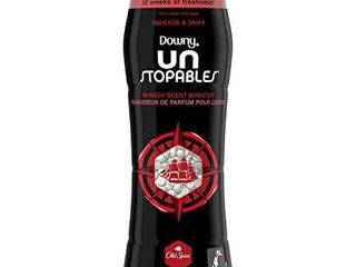 Downy Unstopables in Wash Scent Booster Beads  Old Spice  10 Ounce  4 Count