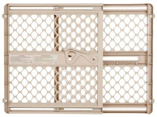 Toddleroo by North States Supergate Select Baby Gate   Sand   26 42  Wide
