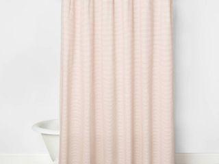 Railroad Stripe Shower Curtain Copper   Hearth   Hand with Magnolia