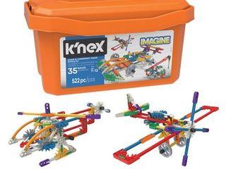 K NEX Imagine   Click   Construct Value Building Set   35 Models   Creative Building Toy