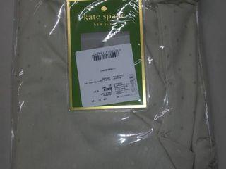Kate Spade larabee Dot Tan Cotton Tablecloth 60 x102  Rectangular   8 Napkins
