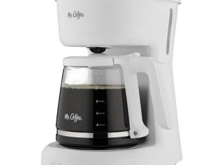 Mr  Coffee 12 Cup Switch Coffee Maker   White