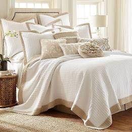 levtex Home Jordan Reversible Full Queen Quilt Set in White