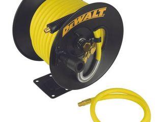 DEWAlT 3 8 in  x 50 ft  Manual Hose Reel