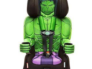 KidsEmbrace 2 in 1 Harness Booster Car Seat  Marvel Avengers Incredible Hulk