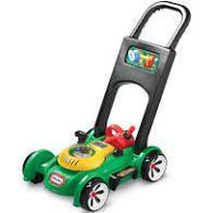 housekeeping Gas n Go lawnmower green
