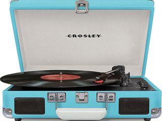 Crosley Cruiser Portable Turntable   Turquoise
