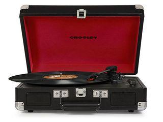 Crosley Cruiser Portable Turntable   Black  CR8005A BK