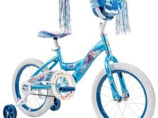 Huffy Disney Frozen 2 16  Kids  Bike   Blue