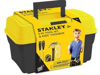 Stanley Jr   5 Piece Toolset with Tool Box