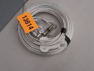 60ft Trolley Runner Cable For Heavy Dogs Up To 125 Pounds Pet Supplies