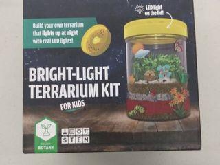 Dan darci Bright light Terrarium Kit For Kids With led light On lid   Build Y