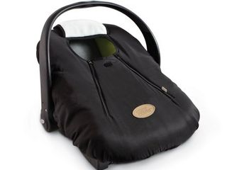 Cozy Cover Infant Carrier Cover  Secure Baby Car Seat Cover  Black