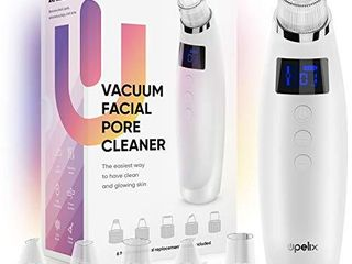 Vacuum Pore Cleaner Blackhead Remover Electric Comedone Suction Extractor Tool Machine USB Rechargeable Facial Cleaning Tool With 6 Suction levels