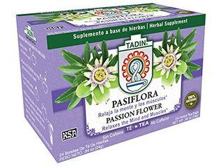 Tadin Tea  Pasiflora  Passion Flower  Tea  24 count Tea Bags