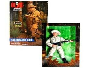GI Joe Classic Collection 1996 limited Edition Australian O D F