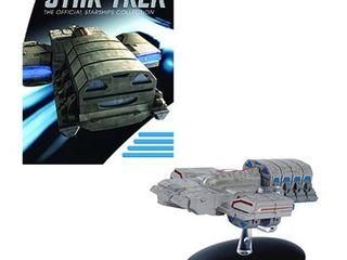 Star Trek Starships Dala Ship Vehicle with Collector Magazine  135
