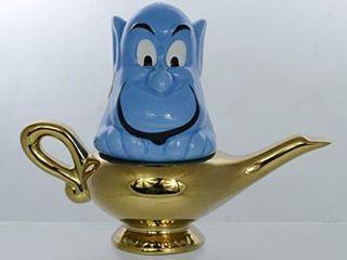 Disney Aladdin Salt   Pepper Shaker Set   Genie and lamp Figural Design   Stackable