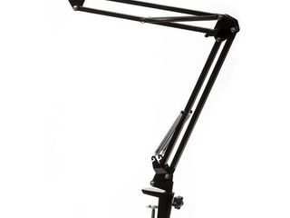 Knox Gear Microphone Suspension Boom Scissor Arm Stand With 5 8 27 Thread