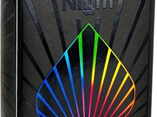Premium Playing Cards  Deck of Cards  Cool Prism Night Gloss Ink  Best Poker Cards  Unique Bright Rainbow   Red Colors for Kids   Adults  Black Playing Cards Games  Standard Size