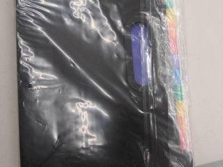 File Organizer Accordion File Folder 24 Pockets Multi color Plastic Stand Bag
