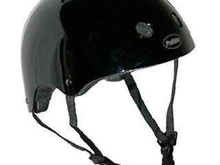 Pro Rider Classic Bike   Skate Helmet  Black  Small Medium