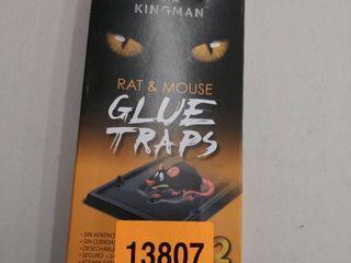 Kingman Rat   Mouse Glue Traps 2 Traps