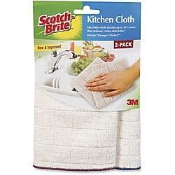 Scotch Brite Kitchen Cleaning Cloths  Pack of 2