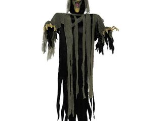 Hanging Witch 72  Animated Halloween Decoration
