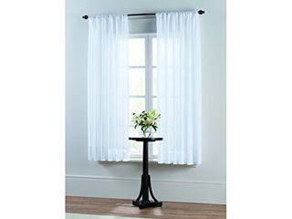 SmartSheer insulating window Sheer Panel White 59x63