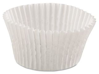 2 Hoffmaster Fluted White Bake Cups  500 count   Pack of 20
