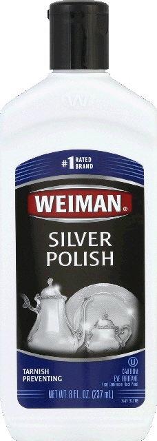 Weiman   Silver Polish 8 00 oz