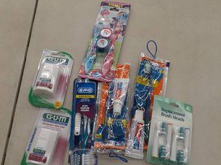 Miscellaneous Dental hygiene items