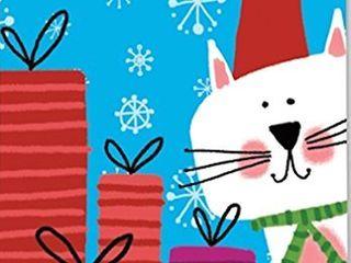 Breeze Art Meowy Christmas Garden Flag  31262
