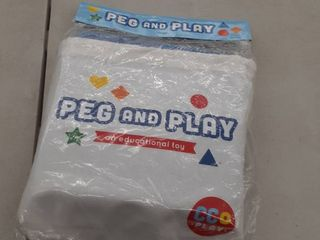 Peg and Play an Educational toy