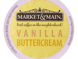 Market   Main Single Serve for Keurig  Vanilla Buttercream  12 Ct