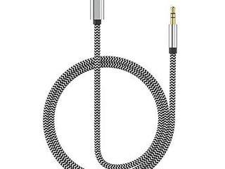 Apple MFi Certified  Aux Cable for car Nylon Braided 3 5mm