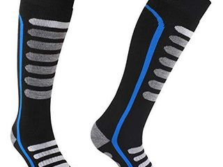 Andake Merino Wool Ski Socks High Performance Thermal Warm Winter Socks Outdoor Sport Snowboard Socks