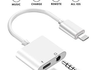 Headphone Adapter for iPhone 8 8Plus 7 7Plus X Xs XSmax 3 5 mm