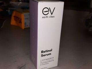 Earth Vibes Retinol Serum Anti aging Facial 1oz