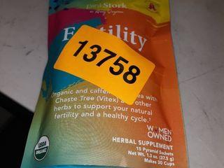 Pink Stork Teas Fertility  Sweet Mint 15 Tea Bags 235396 OC