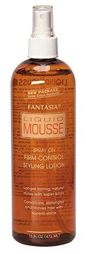 Fantasia liquid Mousse Spray 16 Ounce  473ml