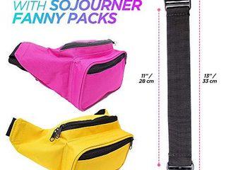 SoJourner Orange Fanny Pack   Festival Packs for men  women