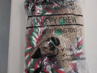 puppy chew and teething toys