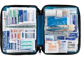 First Aid Only All purpose First Aid Kit  Soft Case  299 Piece Kit